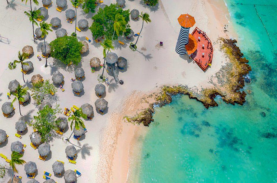Playa en Bayahibe República Dominicana